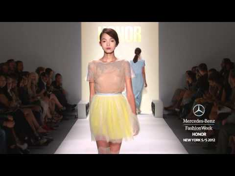 HONOR - MERCEDES-BENZ FASHION WEEK SPRING 2012 COLLECTIONS