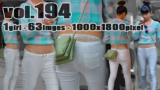 vol194-毛貧スケPぴちぴちホワイトパンツ