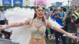第39回たたら祭り 川口 2017 サンバパレード ブロコ・アハスタォン