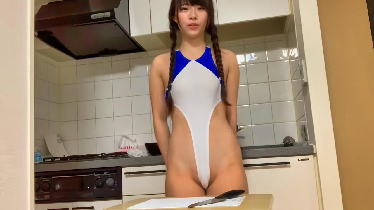 【ハイレグcooking 】おうちでごはん作るよ!