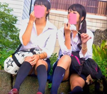 可愛いJ○ちゃんの風景~綿菓子とおしゃべり~