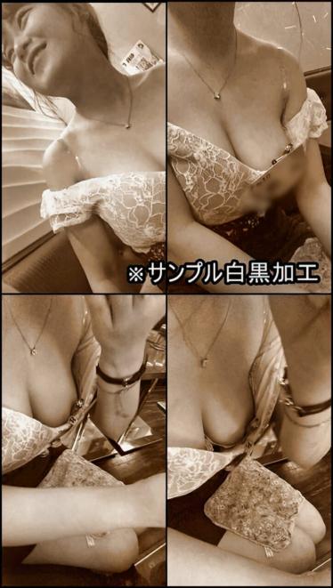 【ポロリ⁈】キャバ嬢の胸チラ①【顔出し有】
