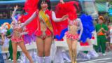 「自由の森学園 サンバ音楽隊」01(2016年8月浅草サンバカーニバル)【4k】