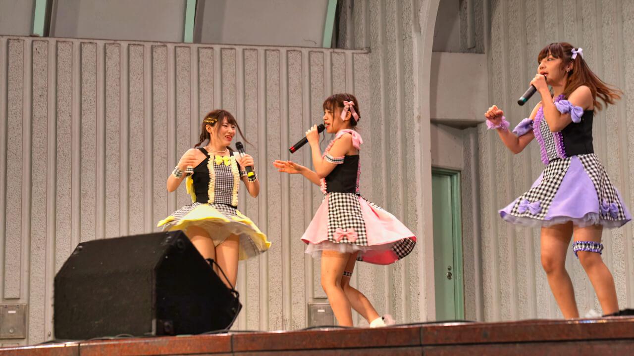 固定【4K/α7Rⅲ/2470GM】Tierna/てぃえるな(Japanese idol group)アイドルキャンパス/IdolCampus at 上野水上音楽堂 2020年10月17日(土)