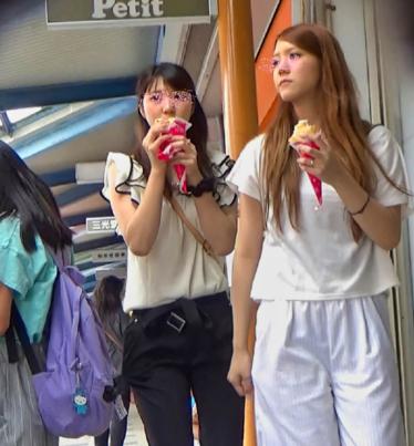 透けパン女子追跡~動画~