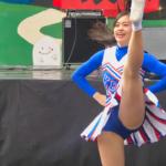 Cheerleading チア ⚾️ 慶應義塾大学応援指導部チアリーディング部 MAJORETTES 2017 チ