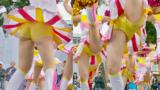 【4Kチア】ゼロ距離撮影!!☆☆アイドルより可愛い!!JDチアダンス!4☆Part1☆