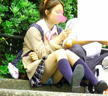 ピカピカに光ってるアイドル級ポニテJ○ちゃん