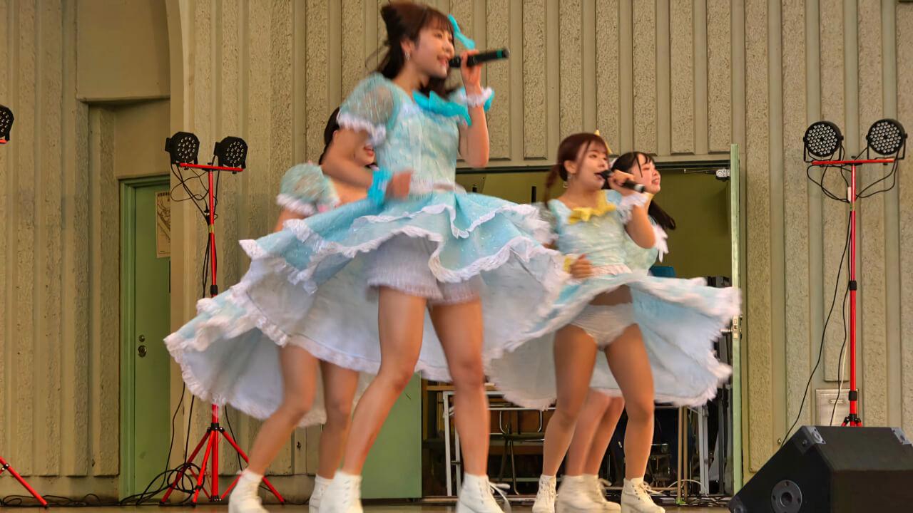 2020/12/6 ハッピースマイル♡シンデレラ アイドルキャンパス(上野恩賜公園野外ステージ)