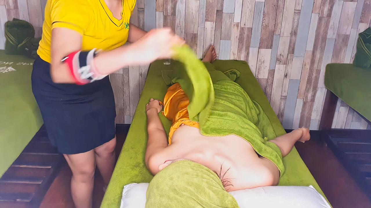 [ASMR ASIA MASSAGE] Amazing Her Powerful Massage