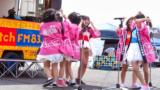 看板娘。 安城まちなかきーぼー市場ステージ 2013.04.27