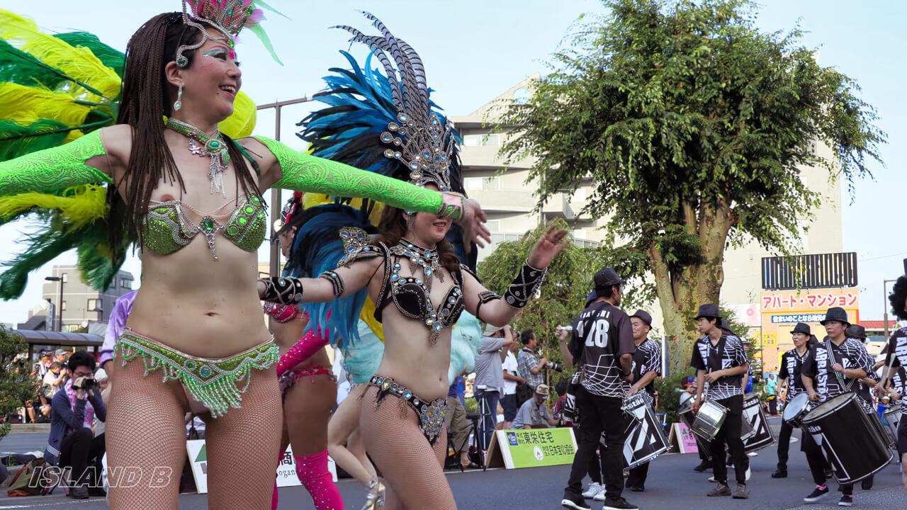 4K60P 2018花小金井サンバフェスティバル ブロコ・アハスタォン(Bloco Arrastão) HANAKOGANEI SAMBA FESTIVAL TOKYO