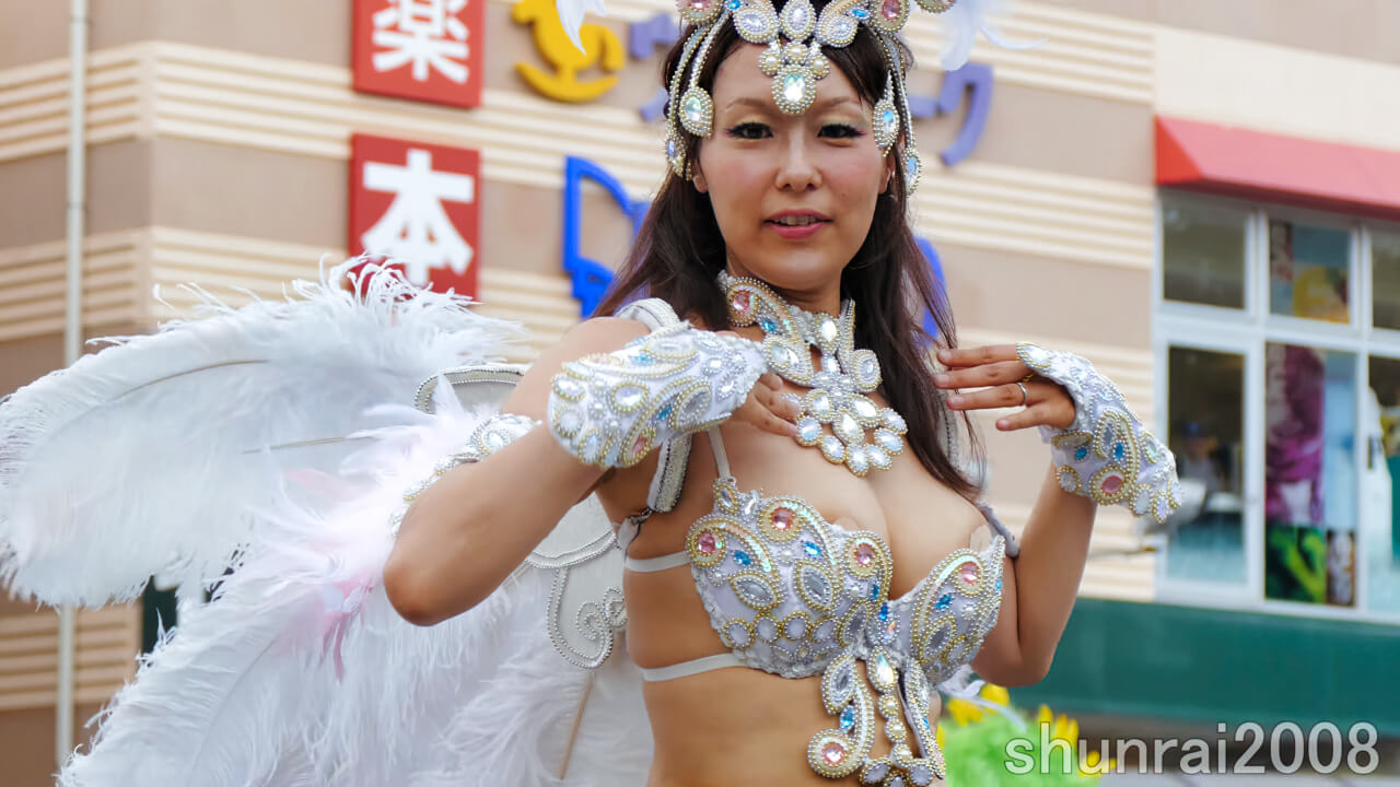 【4K】花小金井サンバフェスティバル 2017 07 16 Hanakoganei Samba Festival (1) ブロコ・アハスタォン Bloco Arrastao