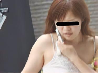 隠撮 素人娘の勃起した乳首1