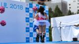 【4K30p】Panasonicデジタル4KビデオカメラWXF1M撮影映像 💃札幌チア 楽美-rabi- 札幌川見2018/8/18 【視線camera📹】