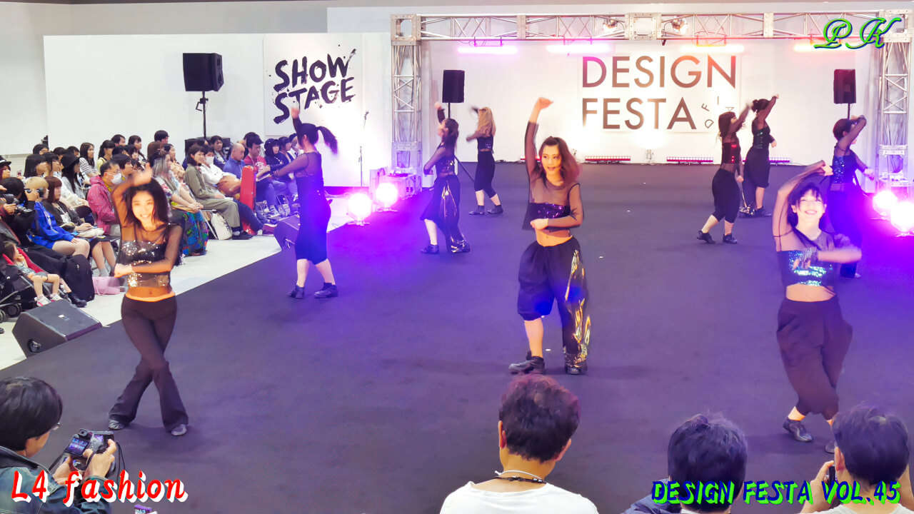 "L4-Fashion ① opening dance ・DESIGN FESTA VOL.45・""Club Disney""""MICKEY MOUSE MARCH"""