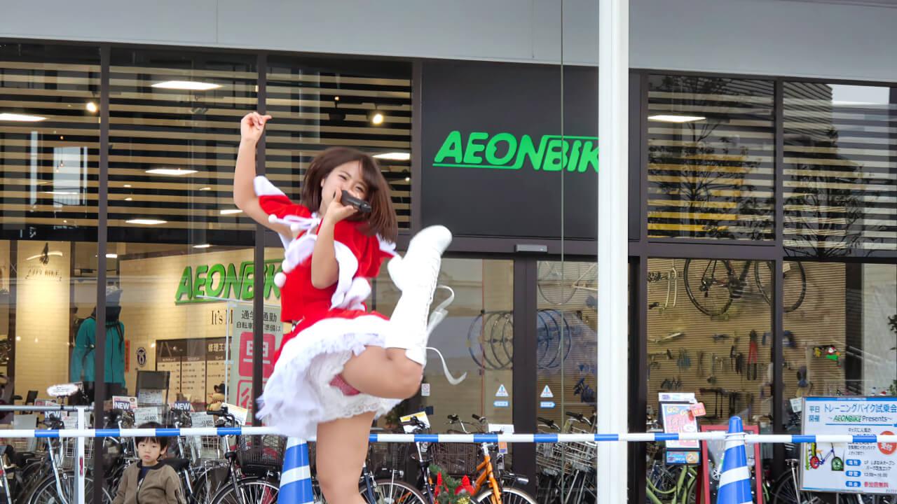 愛の葉Girls イオンモール今治新都市 X'mas LIVE 2部 20161224