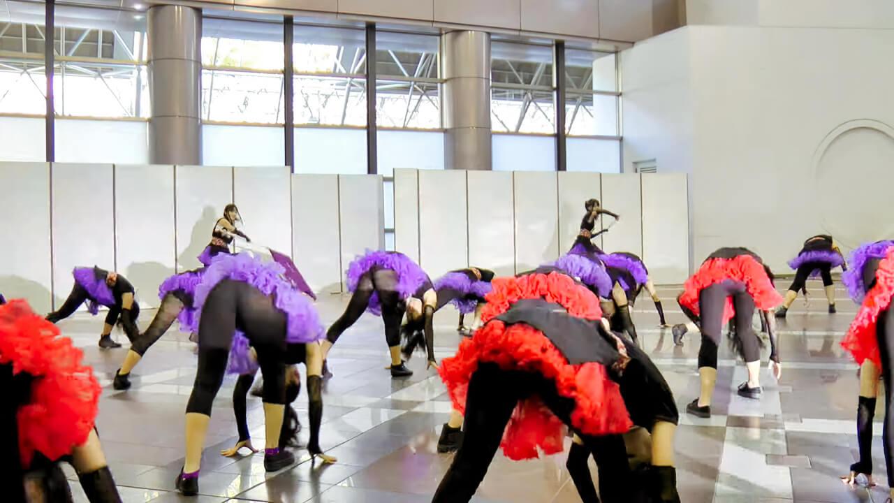 神戸よさこいまつり2011 STDC須磨友が丘高校ダンス部2