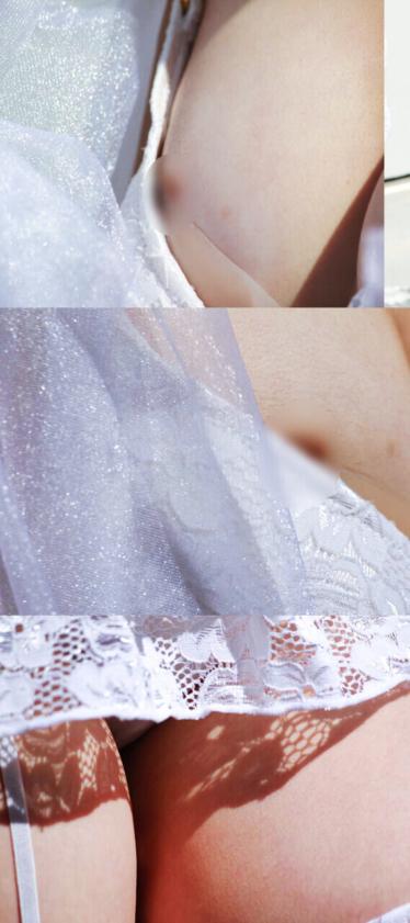 【写真】コスプレイベントの囲み撮影で乳●の見えるRe:ゼロ レムの美少女レイヤー 高画質237枚!