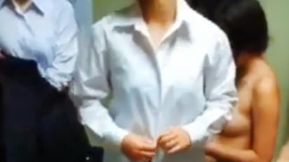 18歳ピッチピチ★練習後の着替え&更衣室(部活ユニ&制服&私服 約10名前後~)
